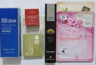 ☆ Korean Beauty Pack 2 ☆ Mixture Of Various Top Brand Korean Products at Wholesale Price ☆ Limited Packs ☆