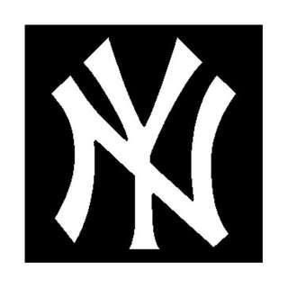New York Yankees NY Logo [Car Decal / Sticker Vinyl] (FREE Mailing