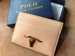 100% new Polo Ralph Lauren card holder