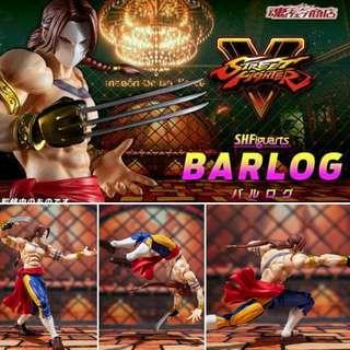 *Pre Order* Tamashii shop exclusive SH Figuarts Street Fighter V Barlog/Vega/Balrog JP MISB SHF