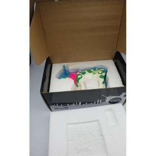 2001 CowParade 陶瓷牛 w/box