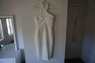 ✨ RENT - white midi dress