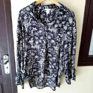 FREE ONG H&M Blouse Oversized