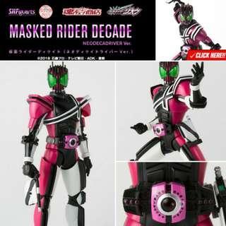 *Pre Order* Tamashii shop exclusive SH Figuarts Shinkocchou Seihou Kamen Rider Decade (Zi-O Neodecadriver Ver) JP MISB SHF