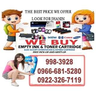 We Buy High Price Buyer of Empty Ink Cartridges and Toner