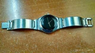 Jam Tangan Swatch Irony Stainless Steel