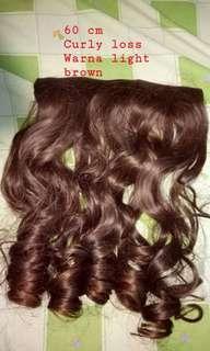 Hairclip brown
