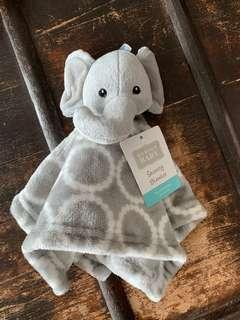 BNWT Elephant Baby Security Blanket, Doudou