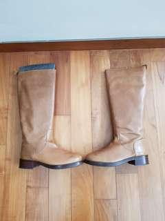 Massimo Dutti boots - brown