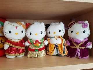Hello Kitty dolls
