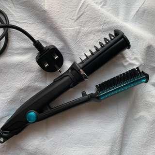 鑽轉捲髮器 兩用
