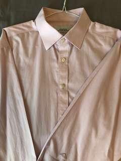 Pink Charles Tyrwhitt Non Iron Dress Shirt 16.5/34