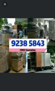Call 92385843 JohnsionMover 搬家Transportation house relocation/office / disposal/ STORAGE