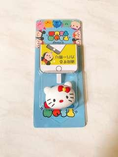 Tsum Tsum cable protector mobile cord tie wire / hello kitty
