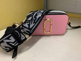 Marc Jacobs Snapshot Small Camera Bag Pink