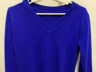 Royal Blue long sweat shirt (S-L)
