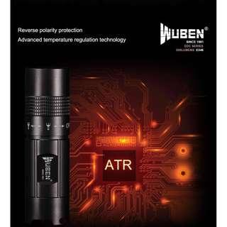 E346 WUBEN (300 Lumens) EDC flashlight Torch