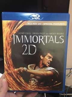 Bluray Immortals