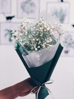 Babybreath bouquet / monthsary bouquet / flowers bouquet /