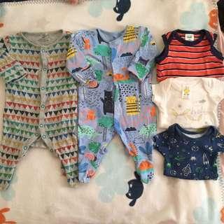 Next Babyboy Sleepsuits Combo