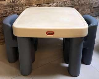 Little Tikes Table with drawer & Chairs