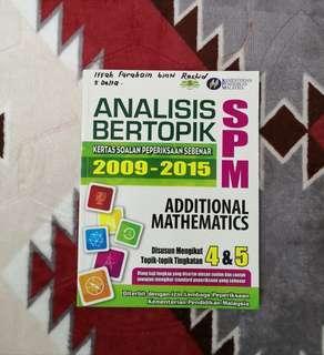 Additional Mathematics SPM