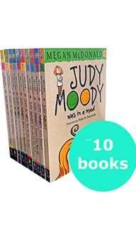 🚚 Judy Moody Set (10 books)