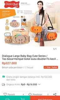 Tas Dialogue large baby bag