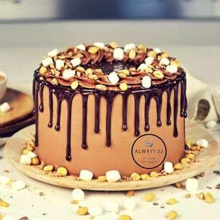 🚚 Cake - 'Lola's Originals - Rocky Road Cake'