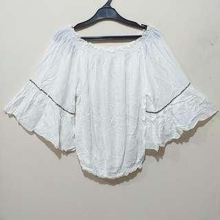 Andy Risza White Blouse