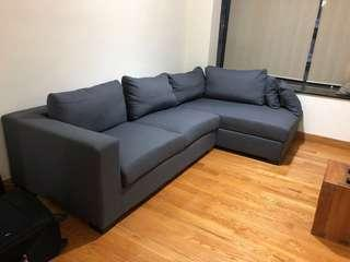 *Great condition* L shape 3 Seater Sofa