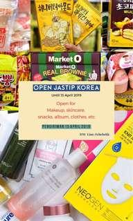 JASTIP KOREA (until 13 Maret 2019)