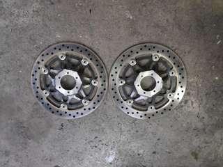 CB400 VTEC /CBR400 black brake disk (front)