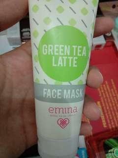 Face Mask Green Tea Latte Emina