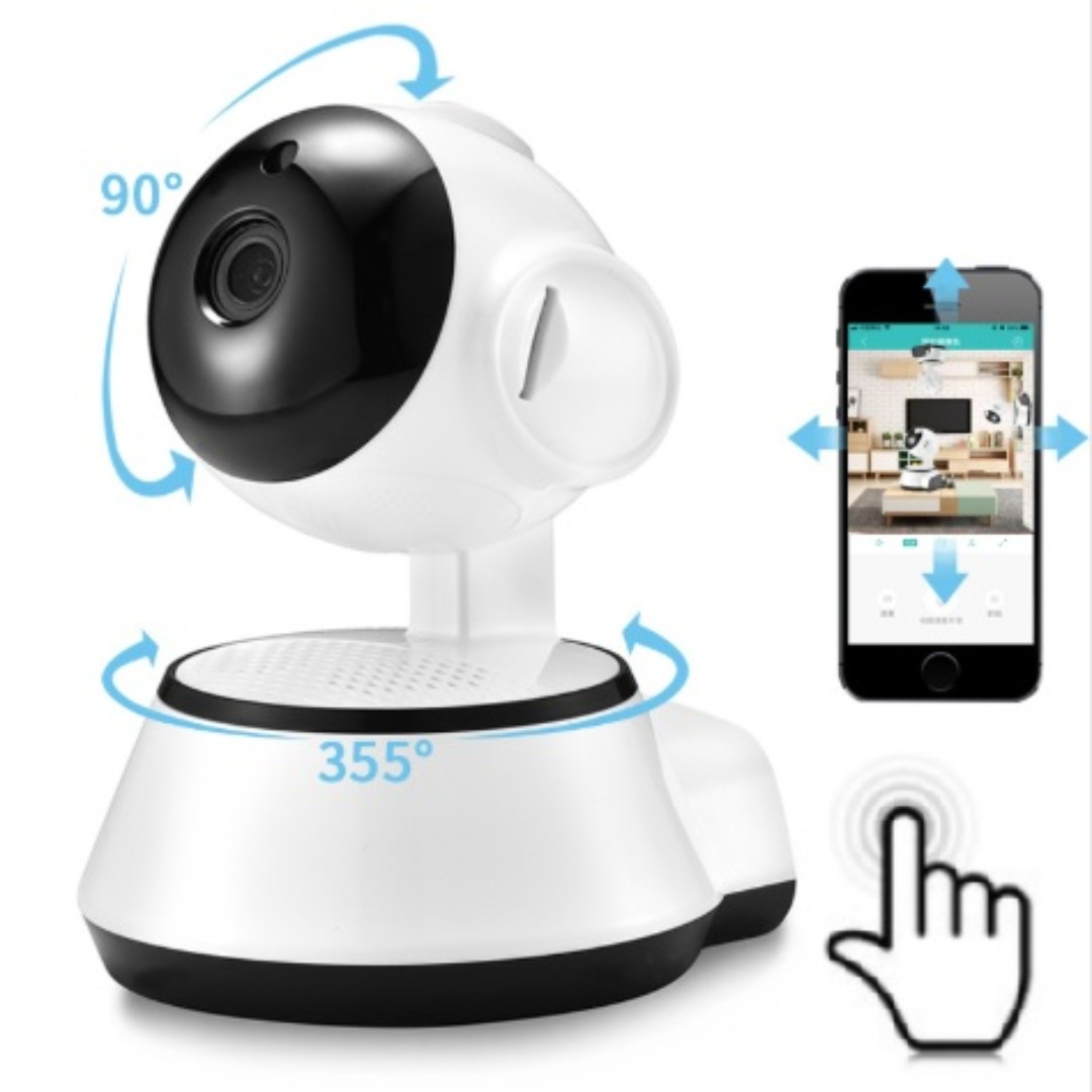 1080P Home Security IP Camera Wireless Smart WiFi Camera Audio Record  Surveillance Baby Monitor Remote monitoring V380 APP