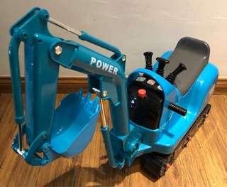 Electronic Digger Ride On