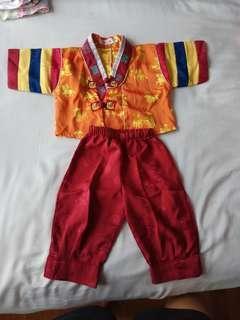Korean style costume