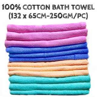 🚚 【INSTOCKS!】BRAND NEW 100% COTTON TOWEL FOR DAILY USE! (FROM LOCAL SUPPLIER)