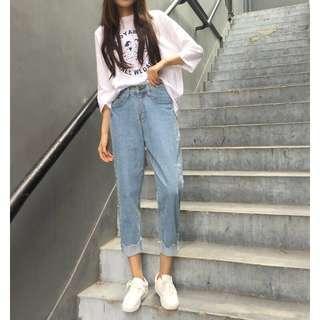 Boyfriend Jeans ukuran Xl kecil (Lp 78)