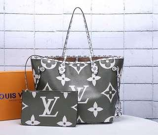 LV Tote Bag with Pouch