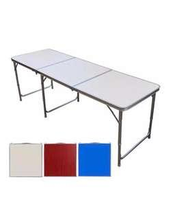 OFFER SALE - Portable Foldable Aluminium Table - 180x60cm