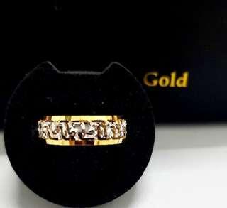 🚚 916 Gold Ring