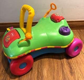 Playskool 2in1 Push Walker + Ride On