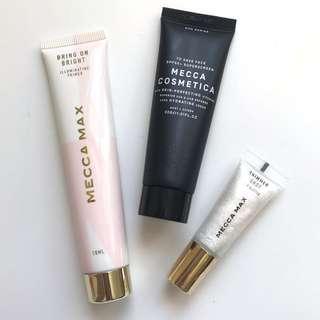 Mecca Max + Mecca Cosmetica Products