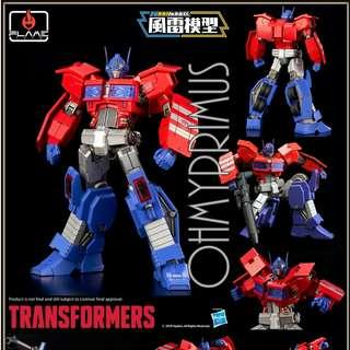 [Pre-order] Flame Toys Transformers Furai Model 03 IDW Optimus Prime - Model Kit (Official Hasbro Licensed Product) - Reissue