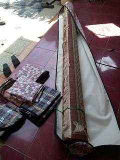 Tas bungkus karpet ambal permadani dan tas buat piring