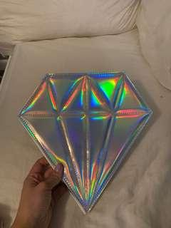 Holographic Makeup Brush Case