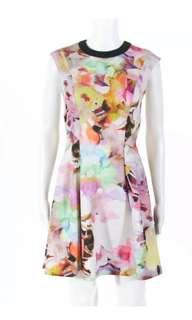 Authentic Ted Baker Jeneyy Electric Day Dream Dress