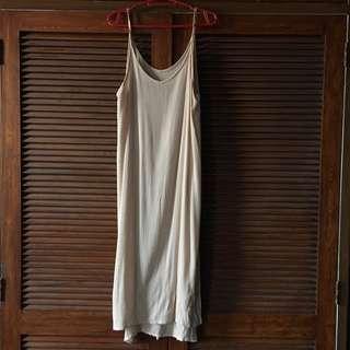 Long Nude Beach Dress