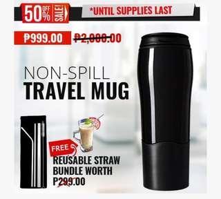Anti Spill Travel Mug/Tumbler